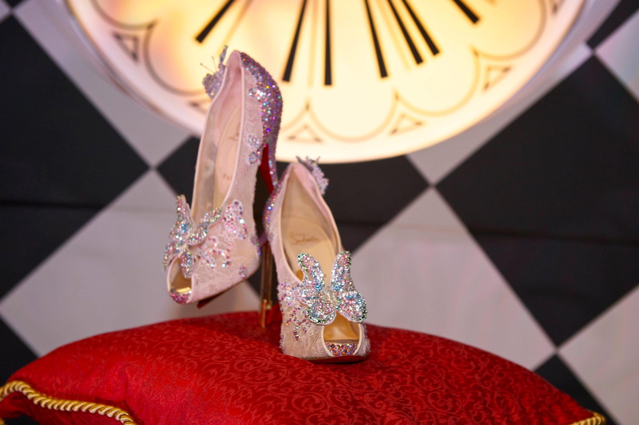 louboutin shoes burlesque price