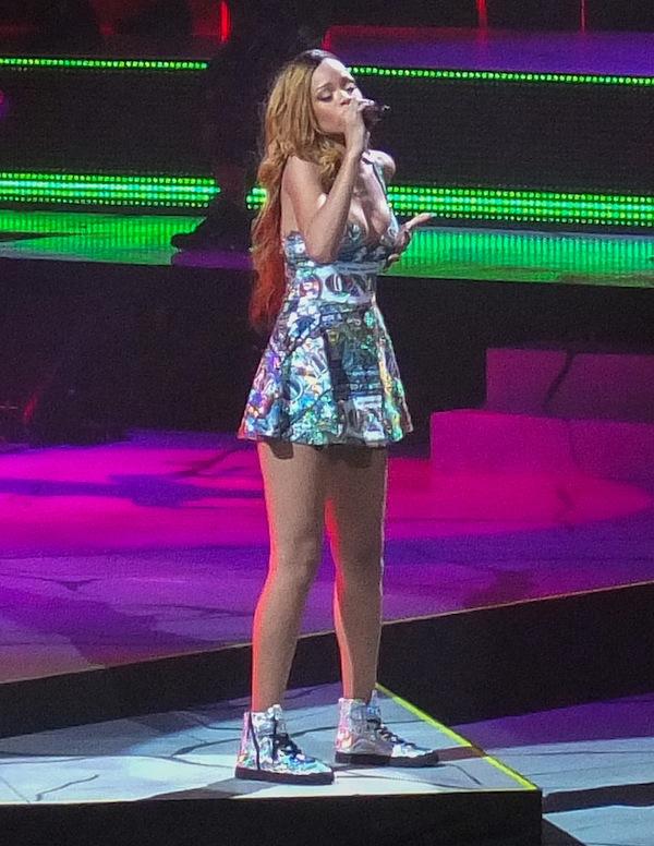 "Rihanna Launches Her ""Diamonds World Tour"""